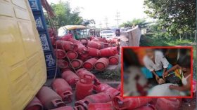 মানিকগঞ্জের সিংগাইরে ট্রাক চাপায় মোটরসাইকেল আরোহী নিহত