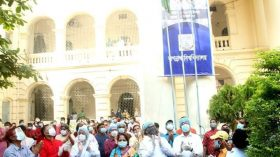 বেগম ফজিলাতুন্নেছা মুজিব হল' উদ্বোধনের মধ্য দিয়ে 'জগন্নাথ বিশ্ববিদ্যালয় দিবস-২০২০' উদযাপিত